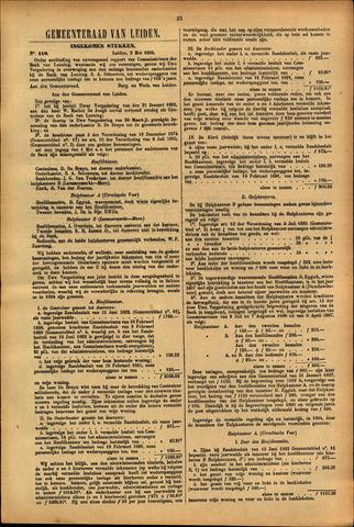 Handelingen van de Raad 1895-05-05