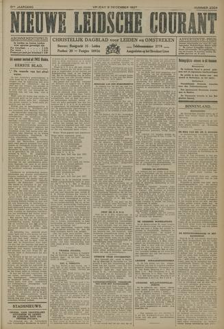 Nieuwe Leidsche Courant 1927-12-09
