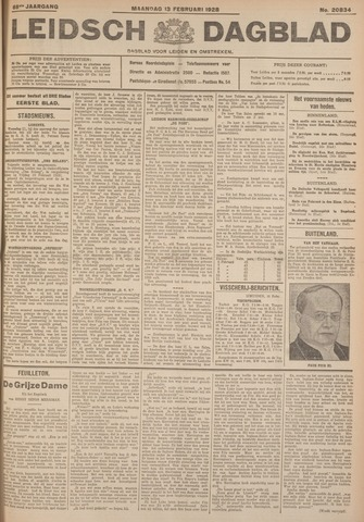 Leidsch Dagblad 1928-02-13
