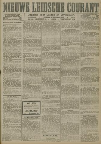 Nieuwe Leidsche Courant 1921-12-13