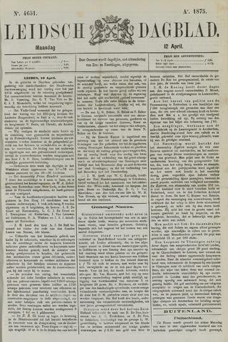 Leidsch Dagblad 1875-04-12