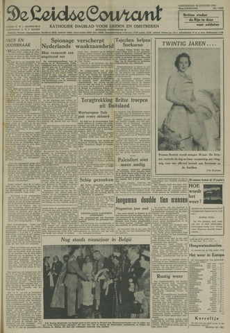 Leidse Courant 1958-01-30