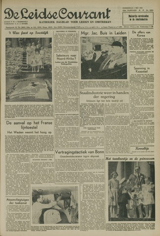 Leidse Courant 1952-05-01