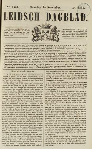 Leidsch Dagblad 1864-11-14
