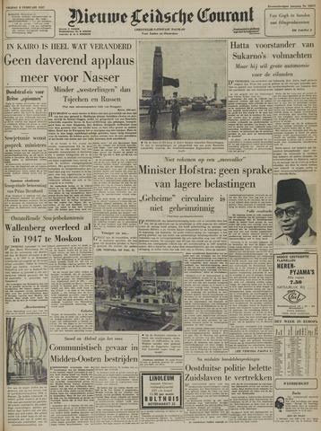 Nieuwe Leidsche Courant 1957-02-08