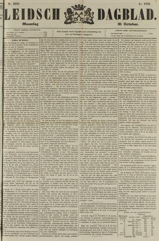 Leidsch Dagblad 1870-10-31