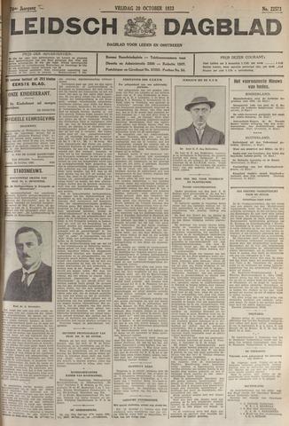 Leidsch Dagblad 1933-10-20