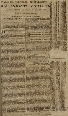 Leydse Courant 1795-04-24