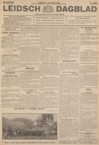 Leidsch Dagblad 1928-08-21
