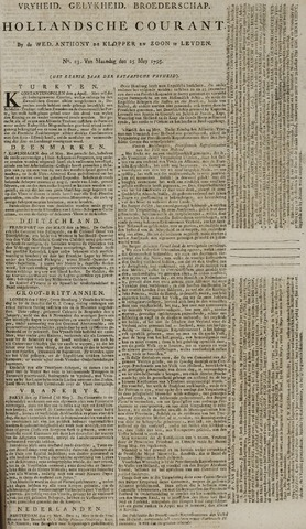 Leydse Courant 1795-05-25