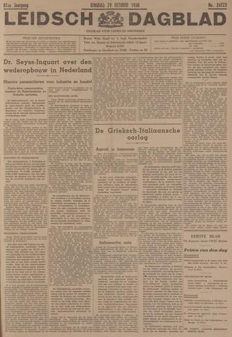 Leidsch Dagblad 1940-10-29