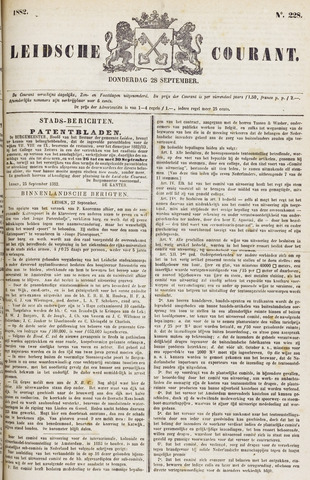 Leydse Courant 1882-09-28