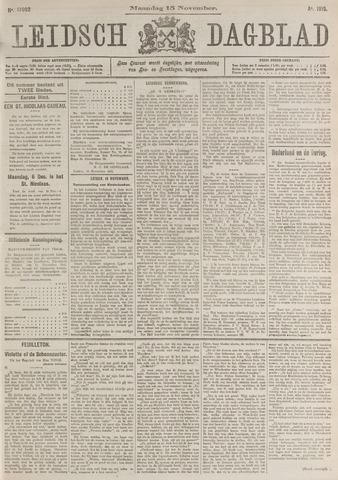 Leidsch Dagblad 1915-11-15