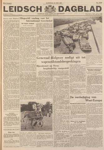 Leidsch Dagblad 1951-06-30