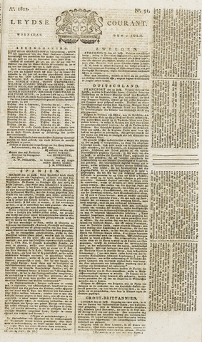 Leydse Courant 1822-07-31