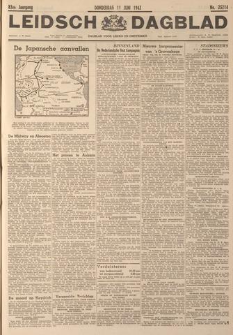 Leidsch Dagblad 1942-06-11