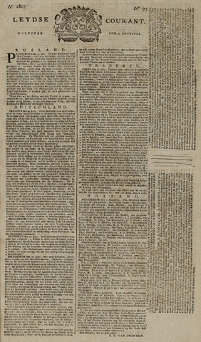 Leydse Courant 1807-08-05