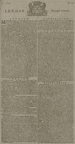 Leydse Courant 1740-05-13