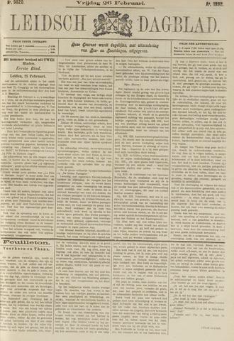 Leidsch Dagblad 1892-02-26