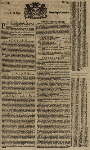 Leydse Courant 1779-11-29
