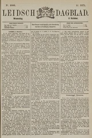 Leidsch Dagblad 1875-10-06