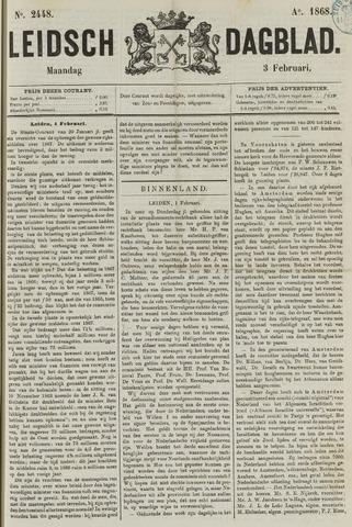 Leidsch Dagblad 1868-02-03