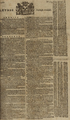 Leydse Courant 1777-09-19