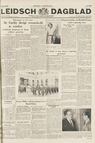 Leidsch Dagblad 1954-08-04