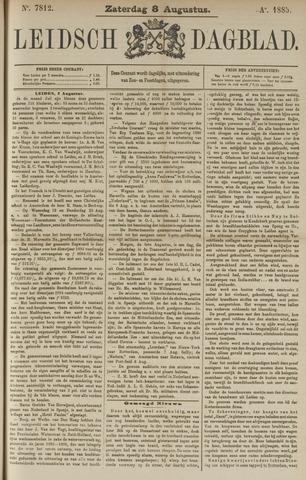 Leidsch Dagblad 1885-08-08