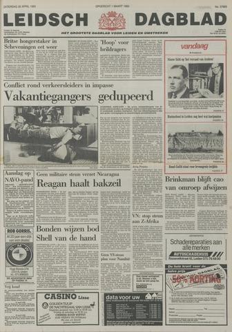 Leidsch Dagblad 1985-04-20