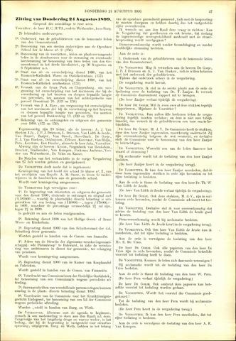 Handelingen van de Raad 1899-08-24