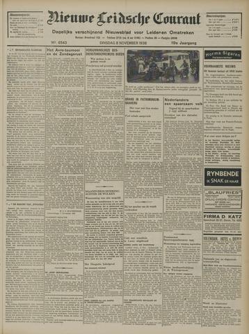 Nieuwe Leidsche Courant 1938-11-08
