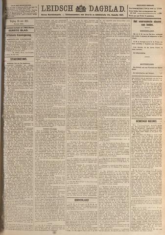 Leidsch Dagblad 1921-07-29