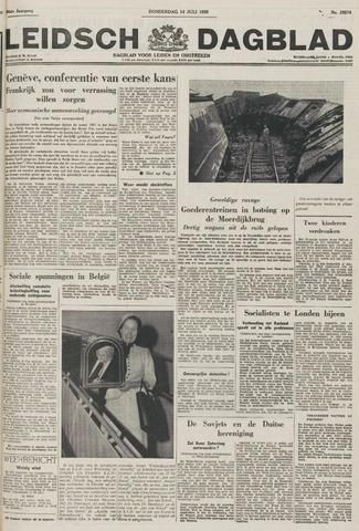 Leidsch Dagblad 1955-07-14