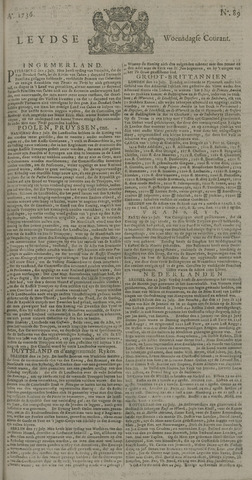 Leydse Courant 1736-07-25