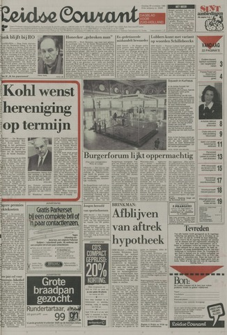 Leidse Courant 1989-11-28