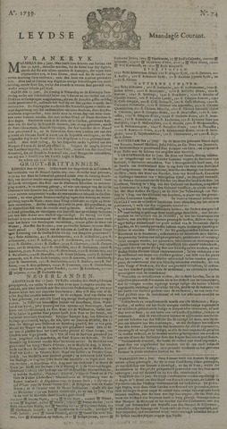 Leydse Courant 1739-06-22