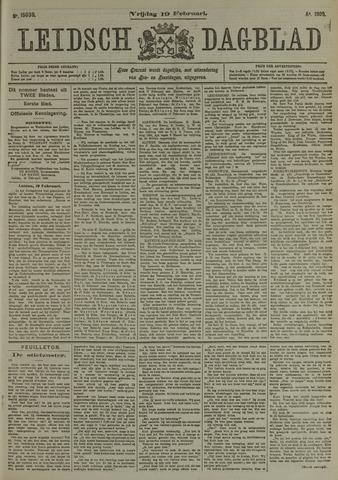 Leidsch Dagblad 1909-02-19