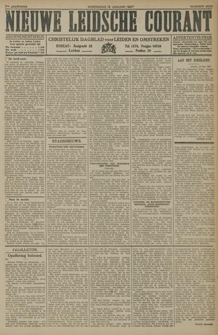 Nieuwe Leidsche Courant 1927-01-19