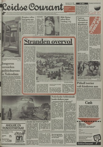 Leidse Courant 1987-07-06