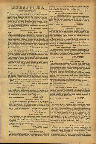 Handelingen van de Raad 1895-01-07