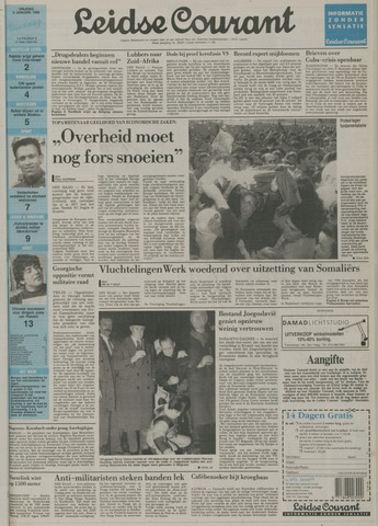 Leidse Courant 1992-01-03