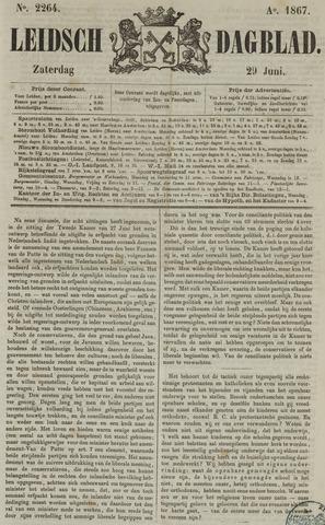 Leidsch Dagblad 1867-06-29