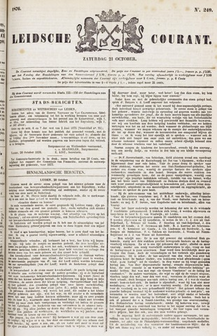 Leydse Courant 1876-10-21