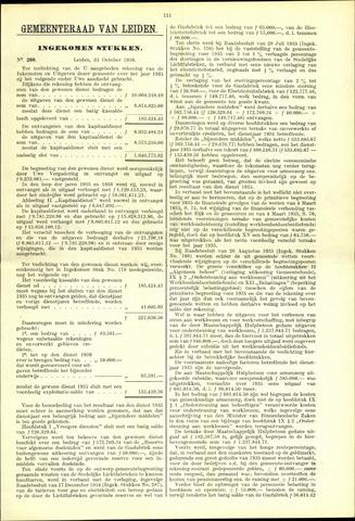 Handelingen van de Raad 1936-10-31