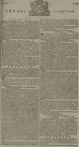 Leydse Courant 1729-07-27
