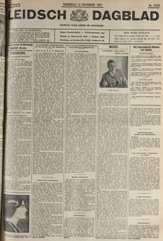 Leidsch Dagblad 1933-11-15