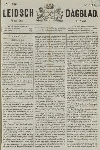 Leidsch Dagblad 1869-04-28