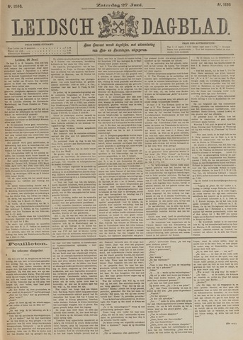 Leidsch Dagblad 1896-06-27