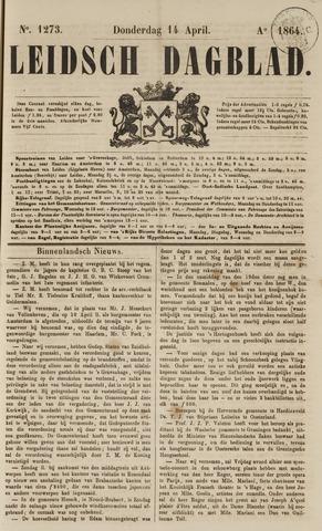 Leidsch Dagblad 1864-04-14